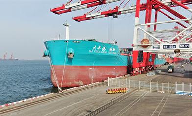 """70000吨级""""大丰港海融""""轮加入betway必威手机版舰队"""